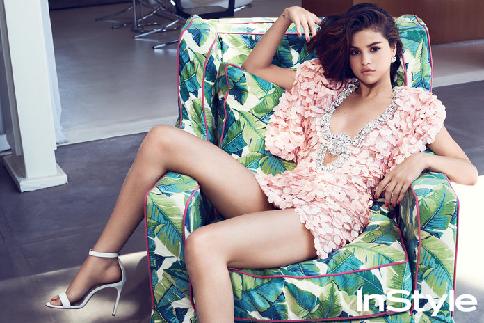 InStyle September Selena Gomez Lead