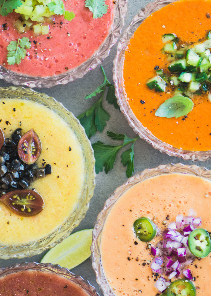 Heirloom Tomato Gazpacho is the Summer Menu Staple You Didn't Know You Needed