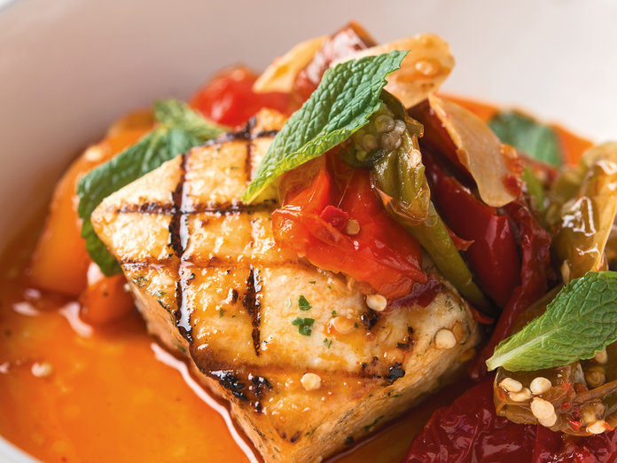 Grilled Salmon - Lead