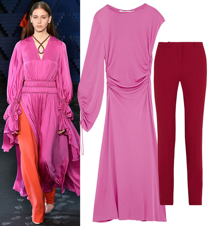You Need to Try ThisBold Look from Roksanda's London Fashion Week Show
