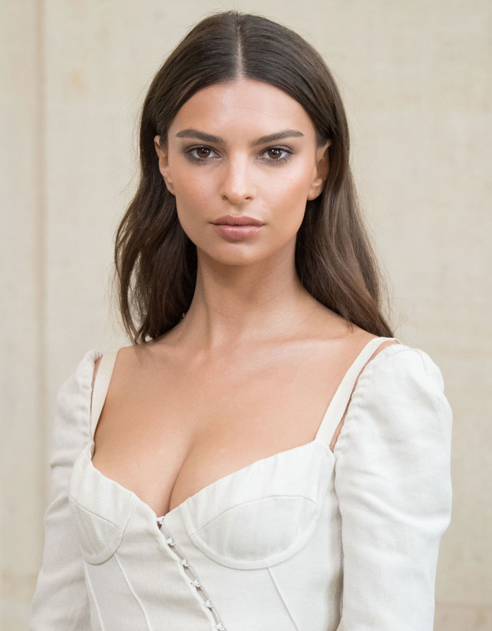 Emily Ratajkowski Teases Her Forthcoming Swimwear Line with Sultry Snap