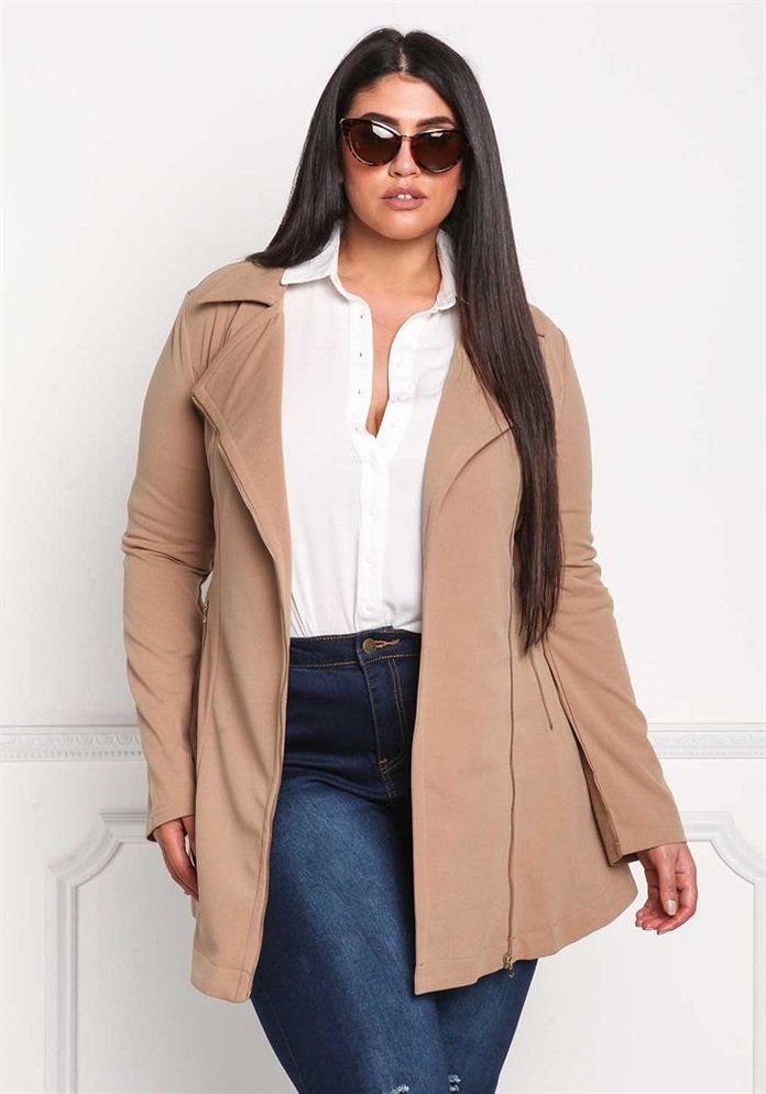 The Best Plus-Size Coats for Fall and Winter | InStyle.com