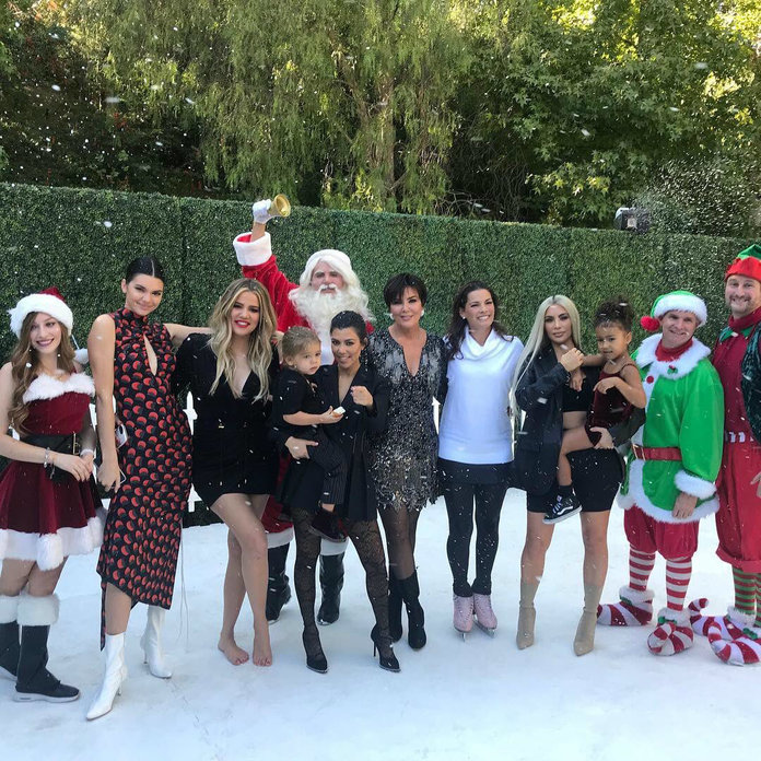 the best celebrity family christmas cards  instyle