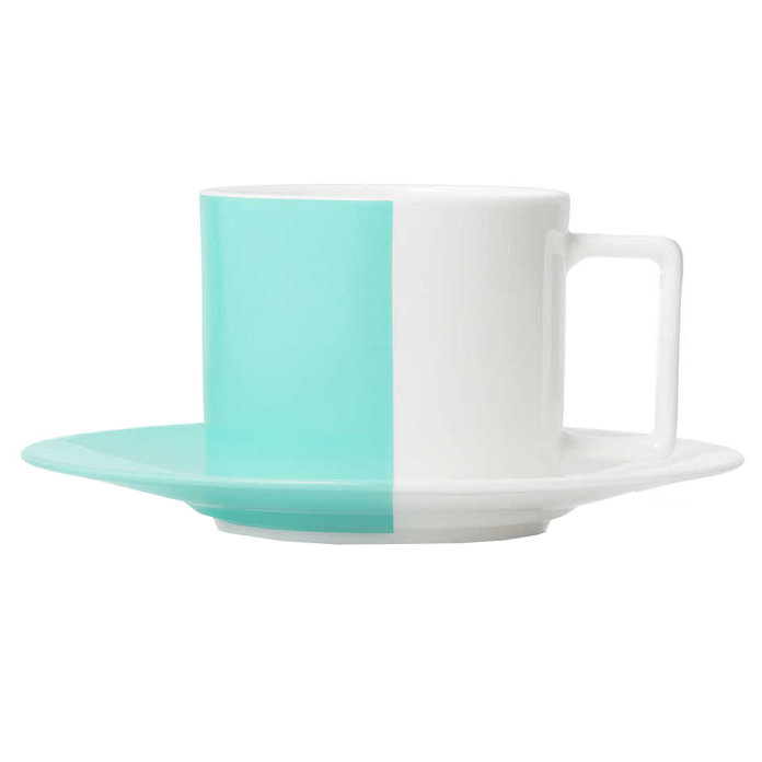 <p>Tiffany Tea Cup and Saucer</p>