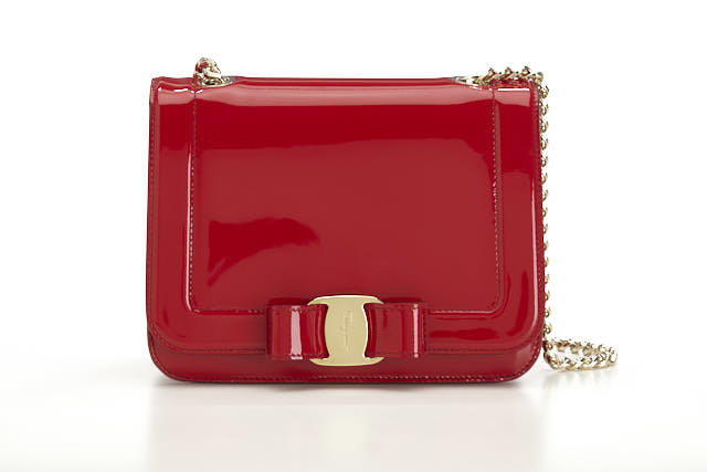 Salvotore Ferragamo SMALL VARA BOW FLAP BAG