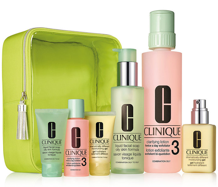 CLINIQUE Great Skin Home & Away Set For Oily Skin