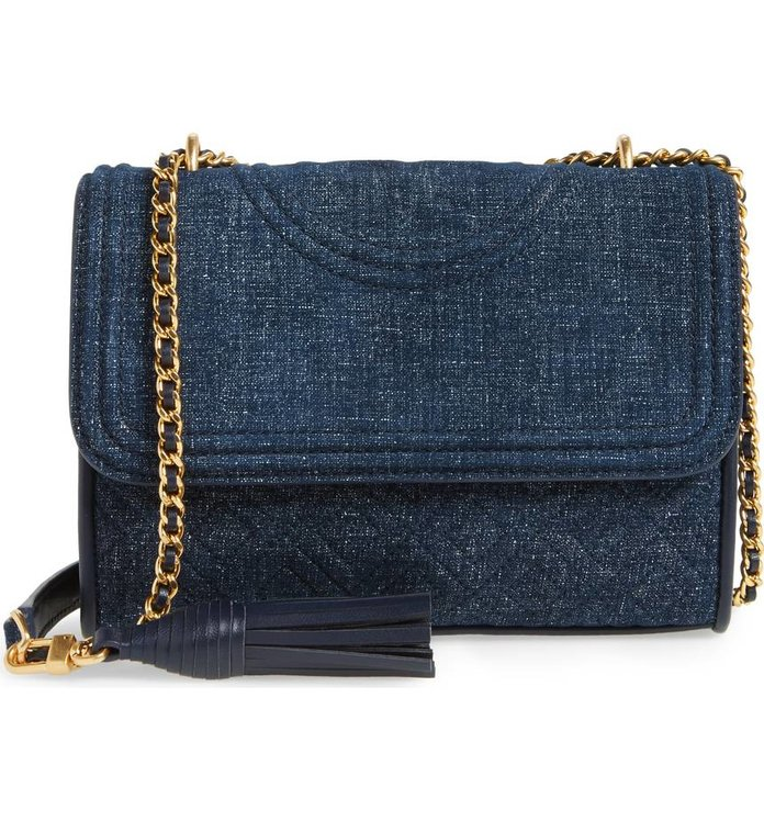Tory Burch Small Alexa Suede Tote