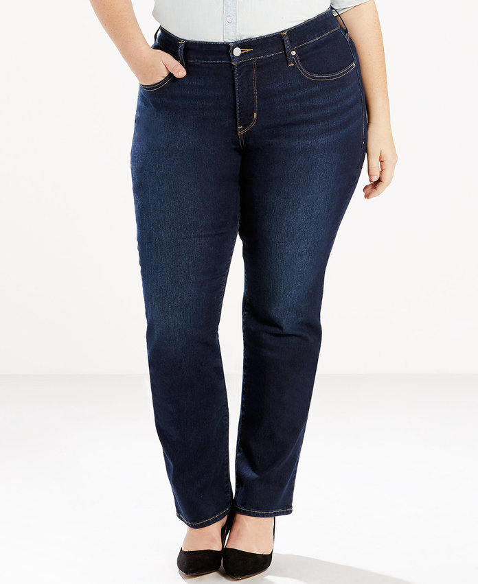 <p>314 Shaping Straight Jeans</p>