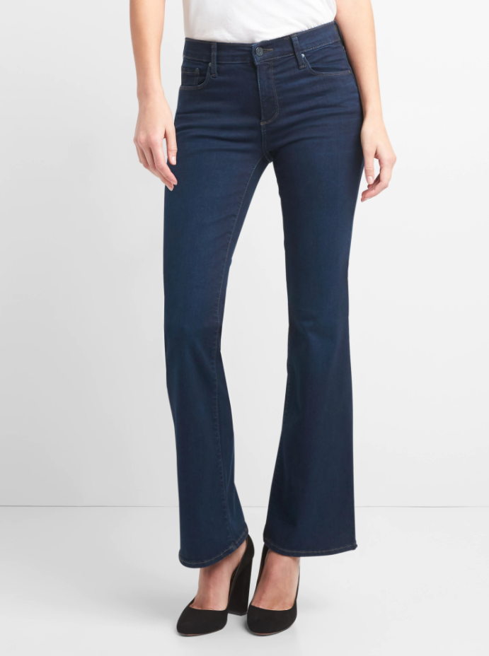 Mid Rise Sculpt Perfect Boot Jeans