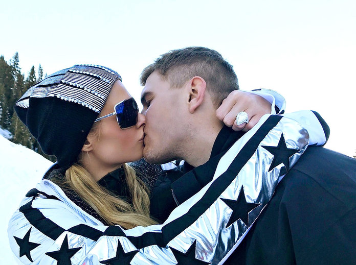 Paris Hilton engaged to Chris Zylka: 'So happy & excited'