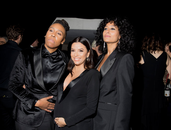 <p>Lena Waithe, Eva Longoria, and Tracee Ellis Ross</p>