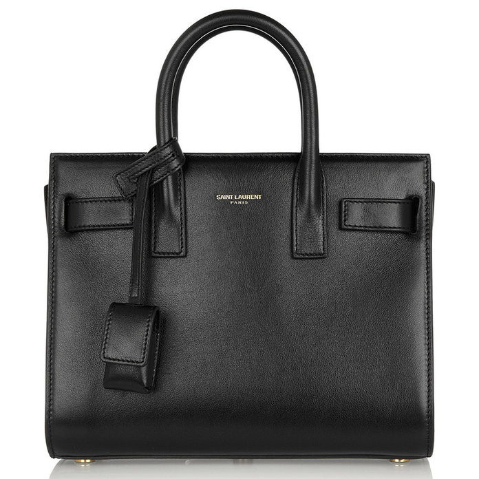 Sac De Jour Nano leather tote