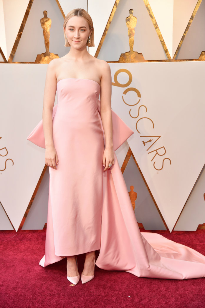 <p>Saoirse Ronan in Calvin Klein By Appointment</p>
