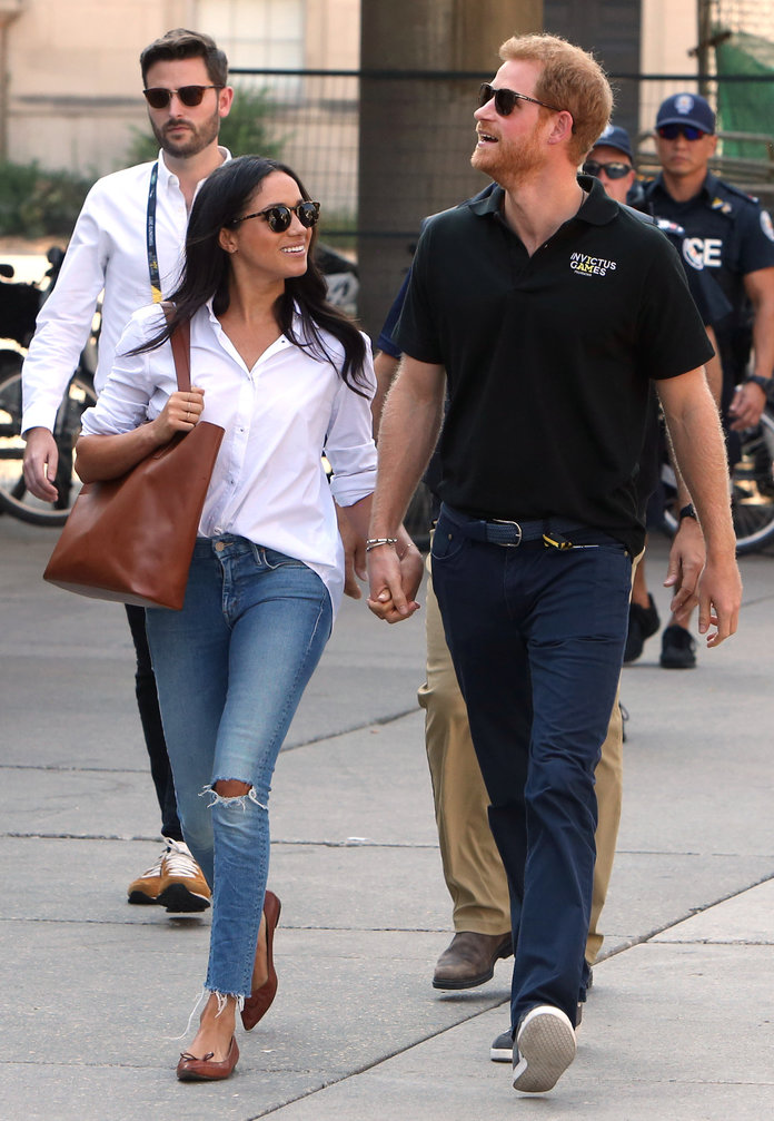 <p>Meghan Markle and Prince Harry</p>