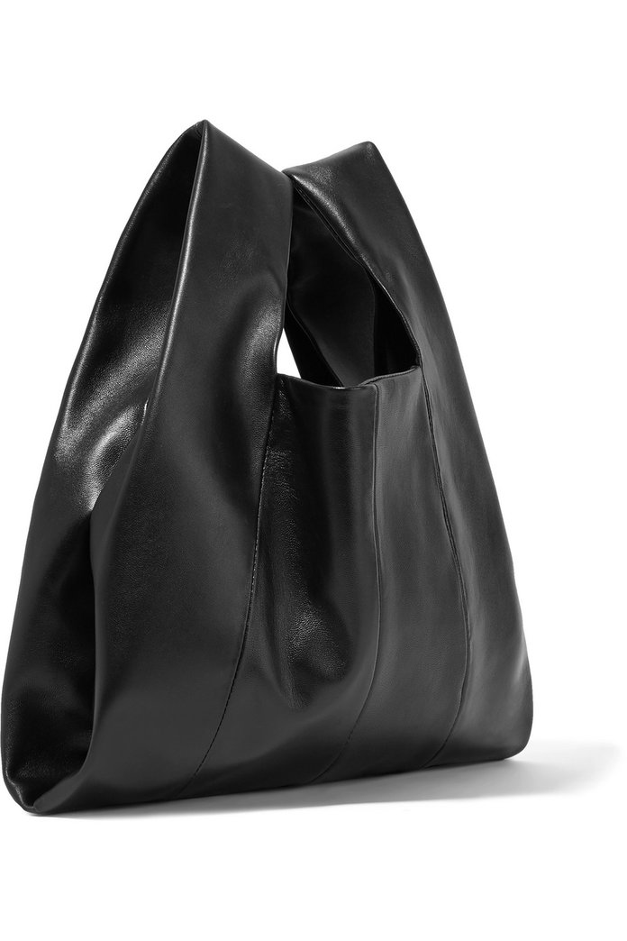 Kara Shopper mini leather tote
