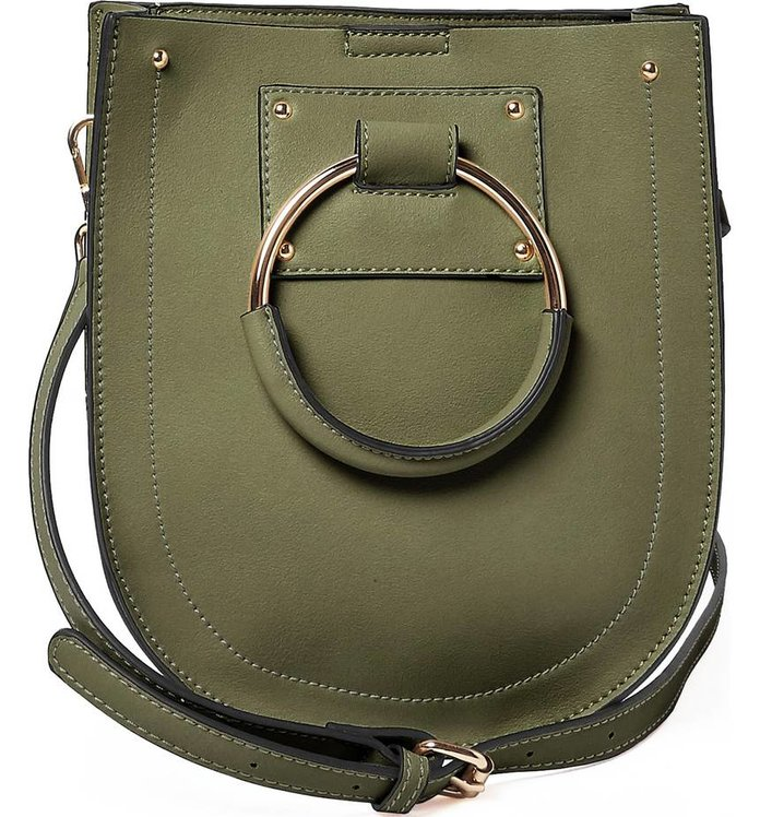 Best for Traveling: Urban Originals Scandi Faux Leather Crossbody Bag