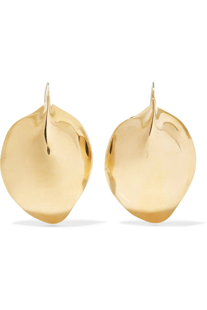 Omineca gold-tone earrings