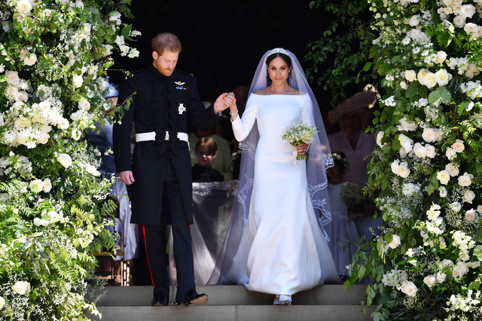 Designer Emilia Wickstead Denies Saying Meghan Markle's Gown Was a Copy