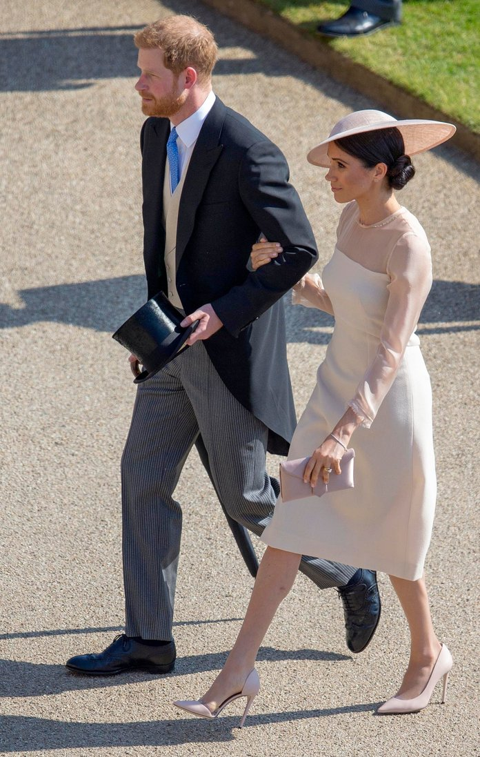 cece7ca6719b Meghan Markle Wore Naked Heels and Actually Made Them Look Elegant ...