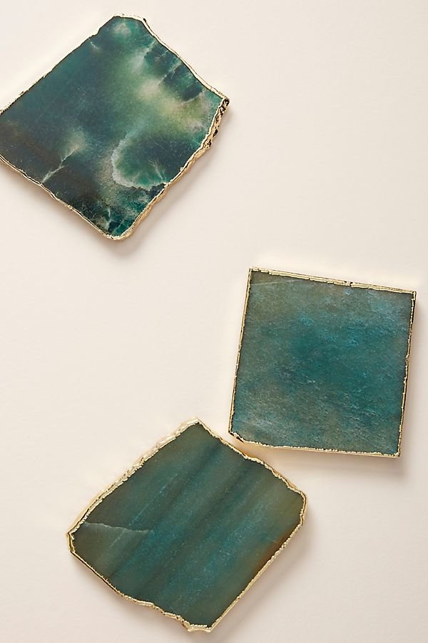 Anthropologie Agate Coaster