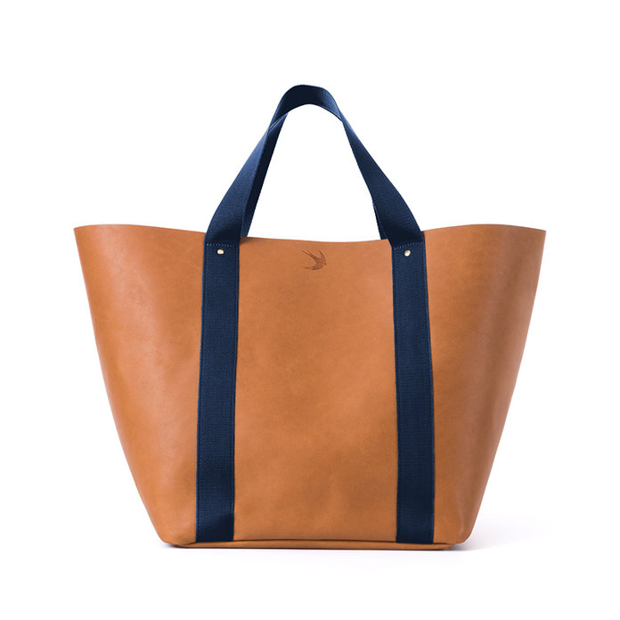 Corroon Leather & Canvas Tote  The Big Daddy