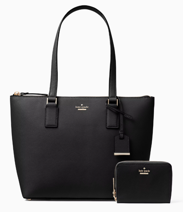 Cameron Street Tote and Wallet Set