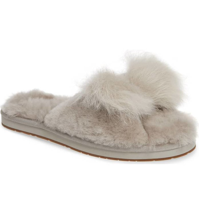 Ugg Mirabelle Genuine Shearling Slide