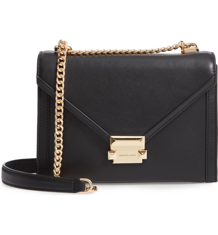 Best Day-to-Night Option: Michael Kors Large Whitney Leather Shoulder Bag