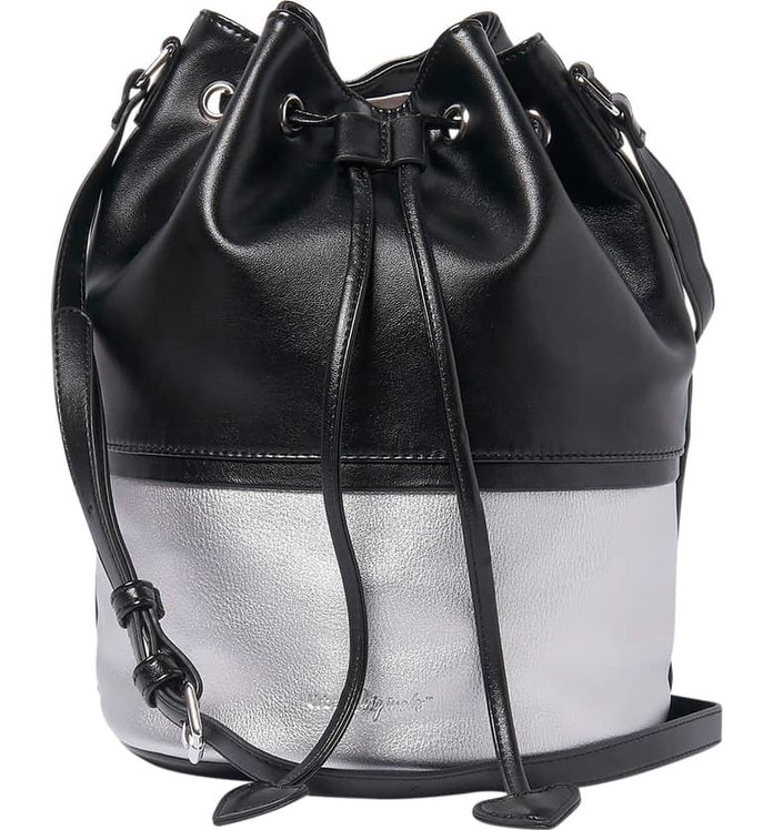 Urban Originals Love Me Vegan Leather Bucket Bag