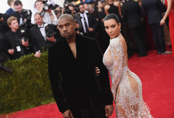 Kim Kardashian and Kanye West lead