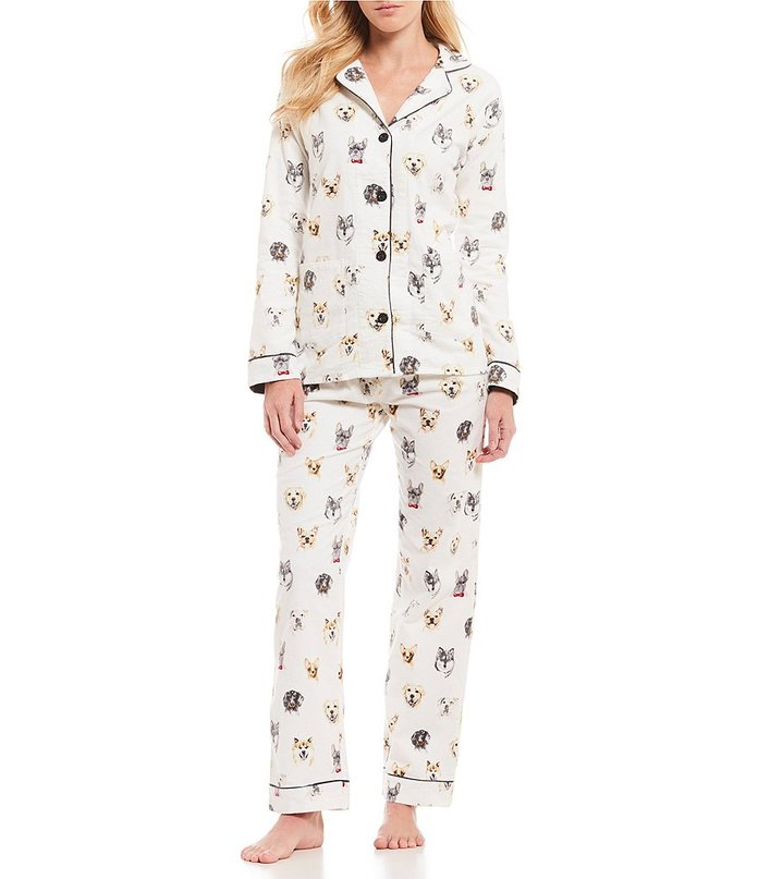 PJ Salvage Pawsitive Flannel PJ Set