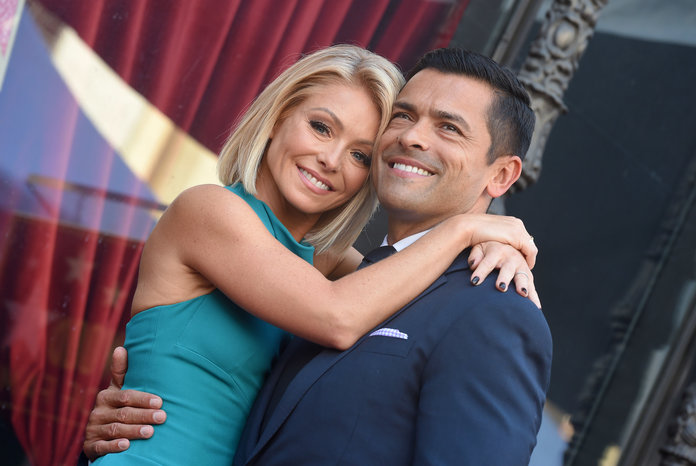 Kelly Ripa and Mark Consuelos lead