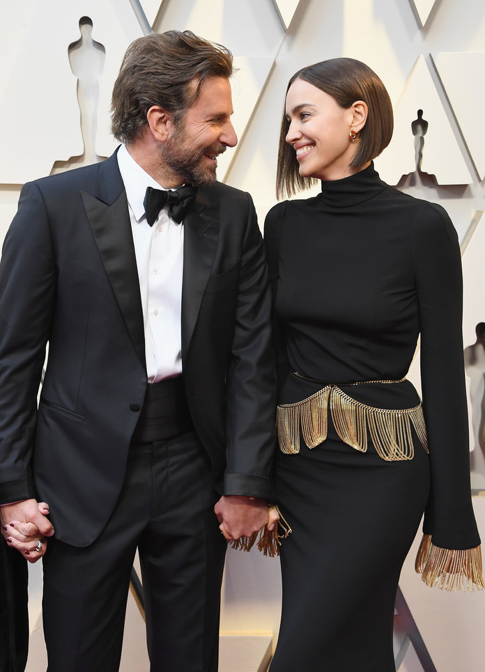 Bradley Cooper and Irina Shayk 91st Annual Academy Awards - Arrivals