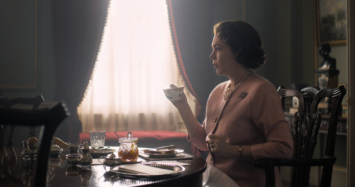 Olivia Colman The Crown Embed