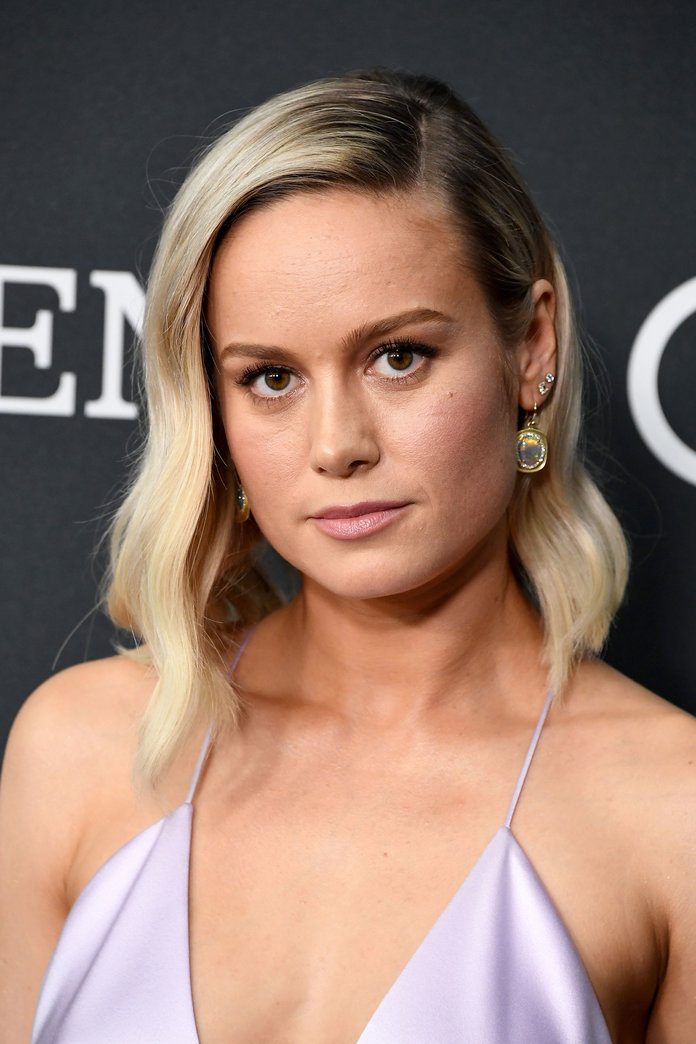 Brie Larson Just Chopped Off All of Her Hair