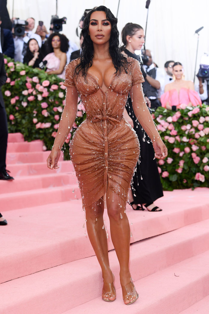 Kim Kardashian's Admits She Was Prepared to Pee Herself at the Met Gala