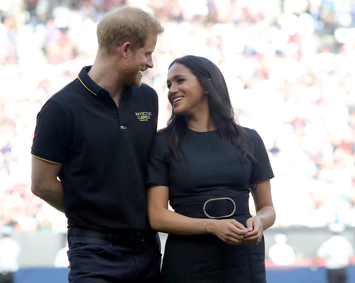 "The Royal Protocol for Meeting Meghan and Harry Is Reportedly ""Very Intense"