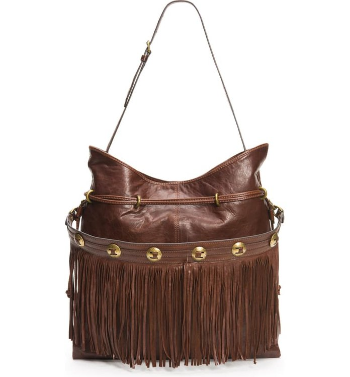 Best Fringe Bag: Frye Small Sacha Concho Fringe Bag