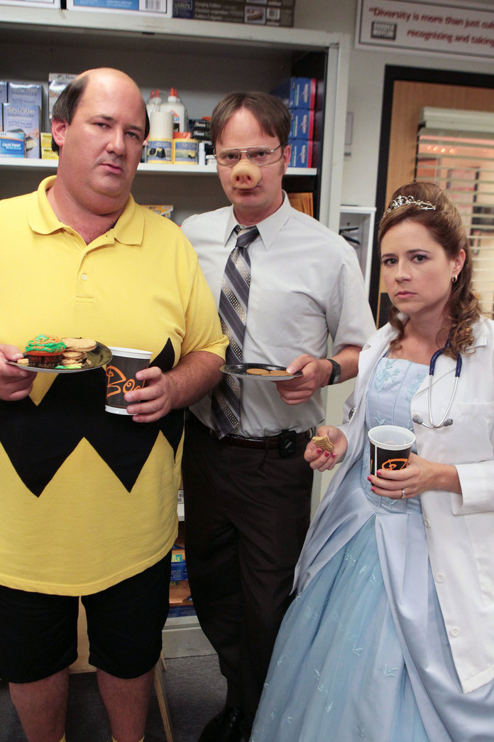 Office Halloween Costumes - Pam