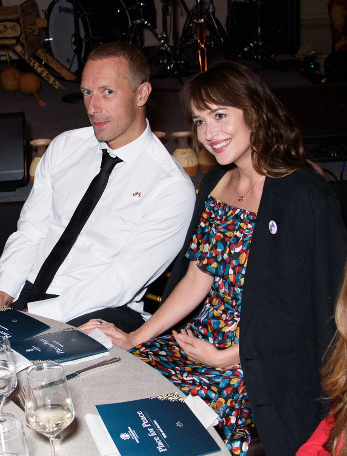Chris Martin and Dakota Johnson Had a Rare Public Date ...