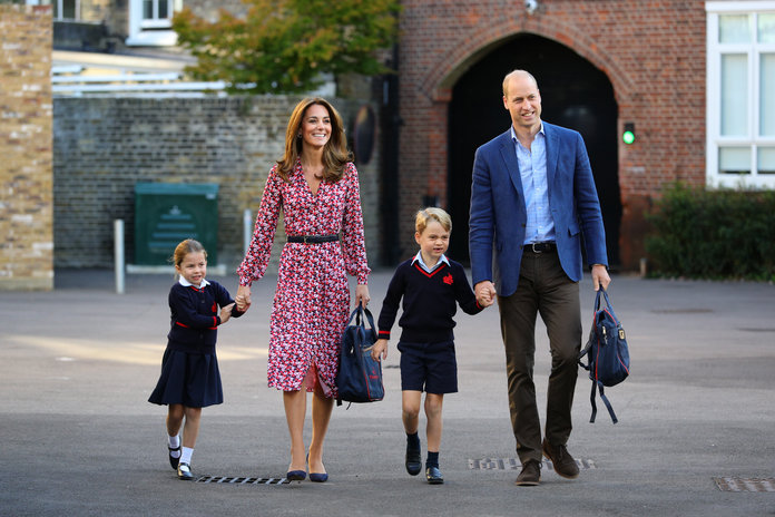 Kate Middleton Says that Princess Charlotte Can Handle Heat
