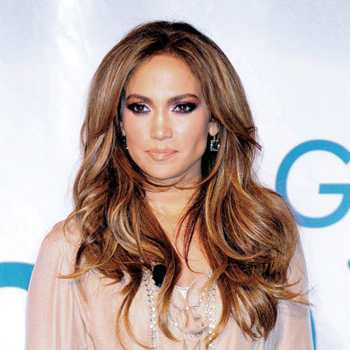 Get J-Lo's oh-so glossy look
