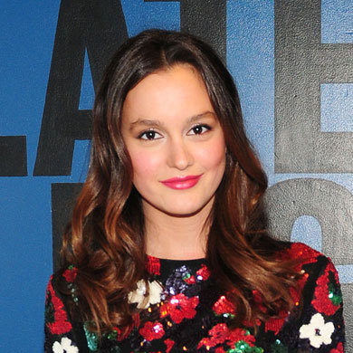 Get Leighton Meester's pretty pink lips