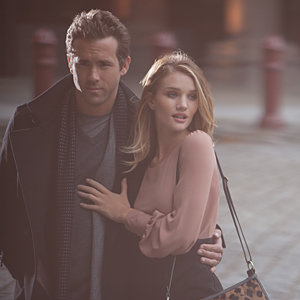 SEE PICS: Rosie Huntington-Whiteley and Ryan Reynolds sizzle in new Marks and Spencer campaign!