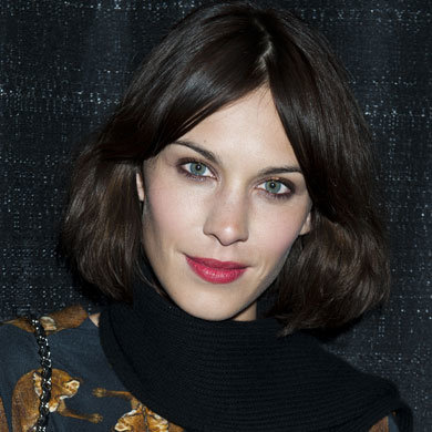 Get Alexa Chung's popping pout!