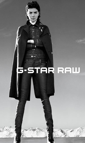 Arizona Muse is the new face of G-Star Raw!
