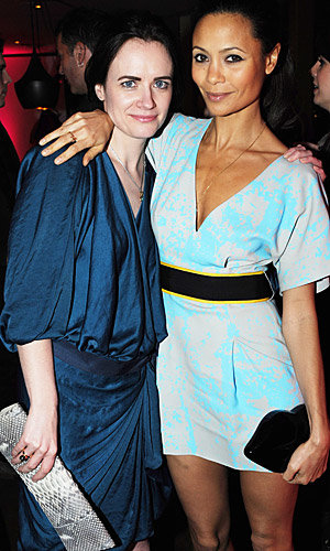 Heidi Klum and Thandie Newton join fellow celebs at InStyle's Best Of British Talent party!