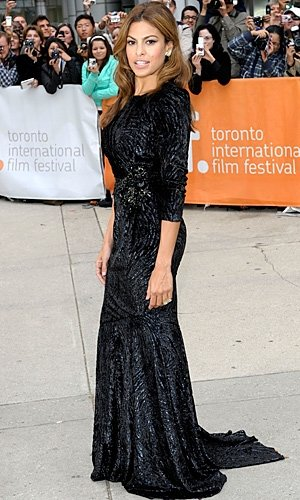NEW PICS! Eva Mendes wows at Toronto Film Festival!