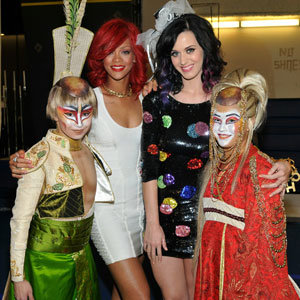 SEE PICS! Rihanna throws Katy Perry a circus themed hen party