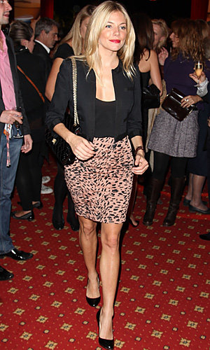 Sienna Miller shows off her own label as she hits Dinard British Film Festival!